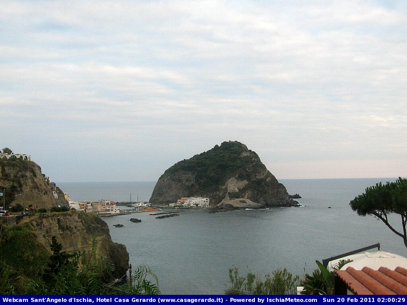 Webcam, Ischia, Sant'Angelo, Casa Gerardo